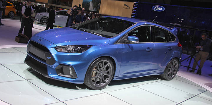 Женевская презентация Ford Focus RS
